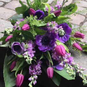 begravelse lilla