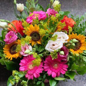 Glad blomster buket