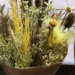 Evighedsbuket i natur og gyldne farver