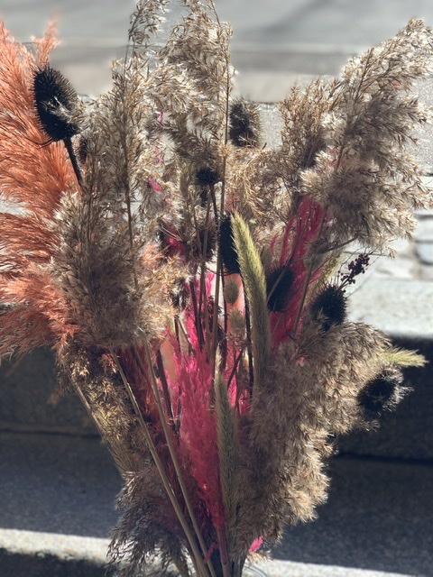 Evighedsbuket med strejf a pink
